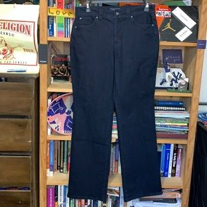 CHARTER CLUB Jean Shop-women's dark wash 'CURVY BOOTCUT' jeans